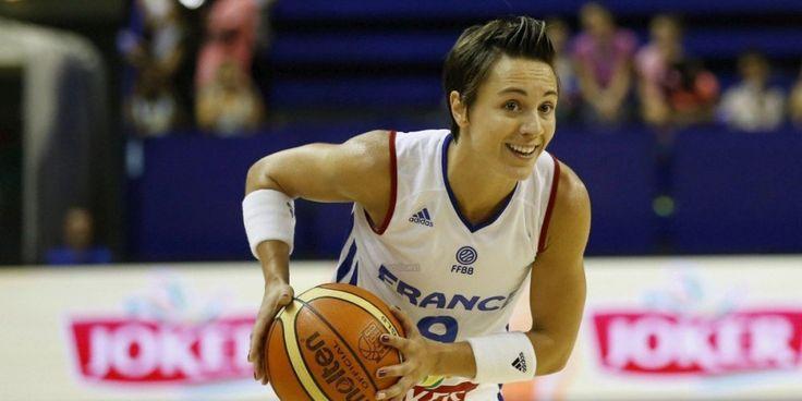 Céline Dumerc compte plus de 200 sélections en équipe de France.