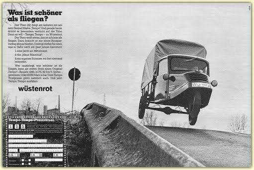 Classic Automotive History: Tempo – From Motorized Wheelbarrow To ...