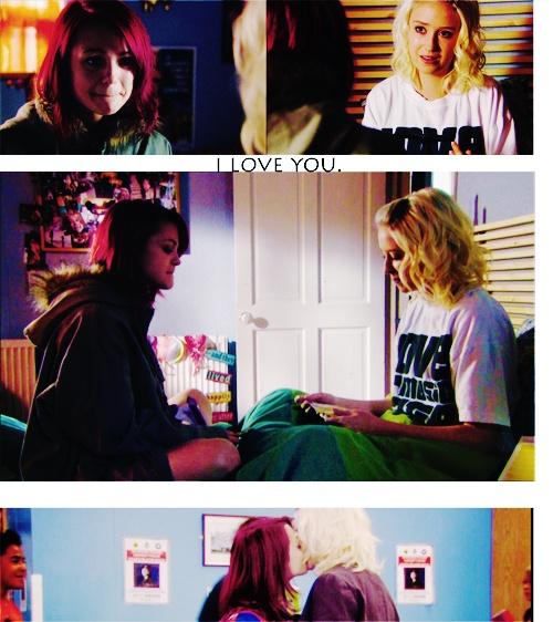 Skins - Naomi and Emily.
