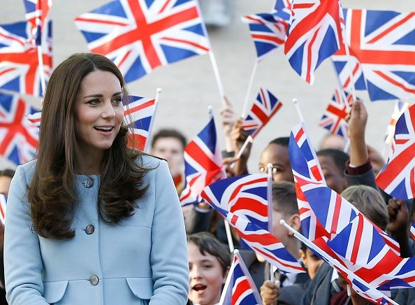 Catherine, Duchess of Cambridge during a visit to open Kensington Leisure Centre on January 19, 2015 in London