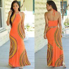Womens Sleeveless Party Dress Vintage Casual Long Dress Summer Beach Maxi Dress #dresses #fashion #style #women #trend