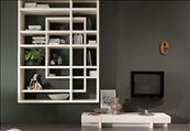 PG700 bookcase 100% hand made in Italy www.marchettimaison.com