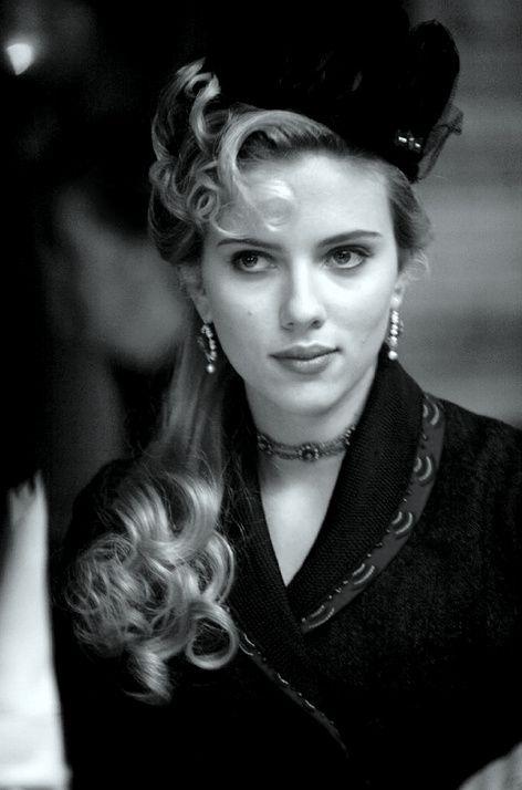 scarlett johansson | Tumblr: Film, Theprestige, Scarlett Johansson, Olivia Wenscombe, Scarlettjohansson, Movie, The Prestige, Photo, Hair