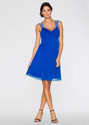Robe de soiree bleu electrique