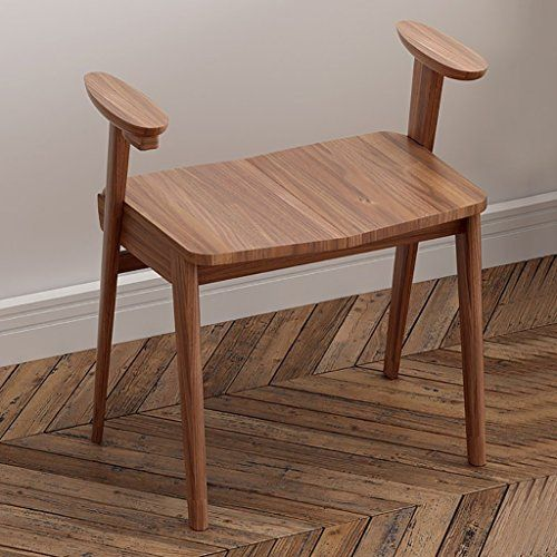 Best Luhen Shoe Stool Solid Wood Handrail Stools Slim Chair 400 x 300