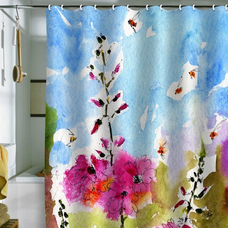 192 best curtain shower print images on Pinterest | Bathroom ideas ...