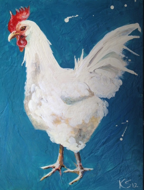 Other White Rooster