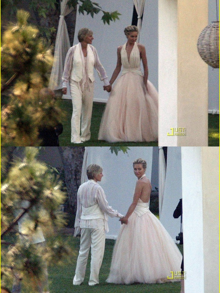 17 best images about portia de rossi on pinterest for Portia de rossi wedding dress