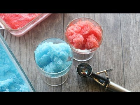 Jello Homemade Shaved Ice recipe