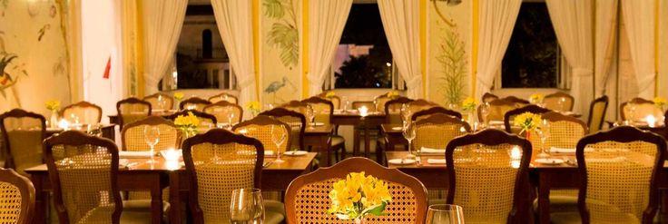 Restaurante - Hotel Solar do Império - Petrópolis - RJ - Brasil