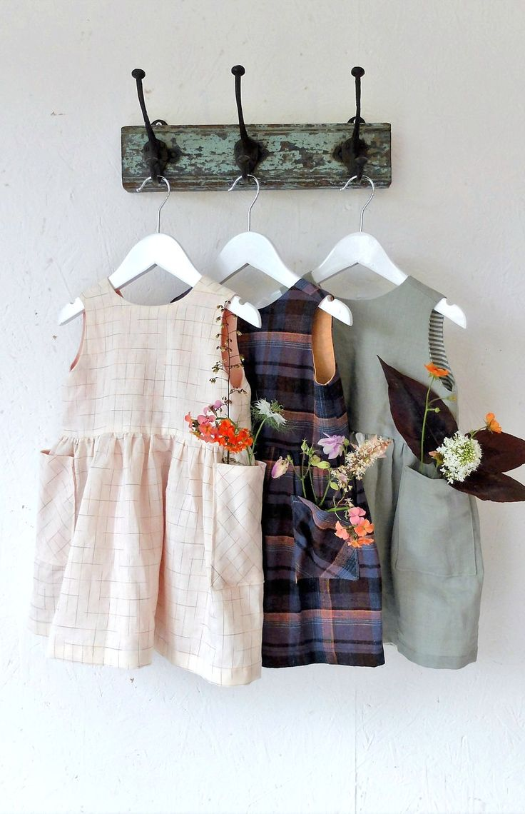 Handmade Linen Dresses by YouAreSmall on Etsy