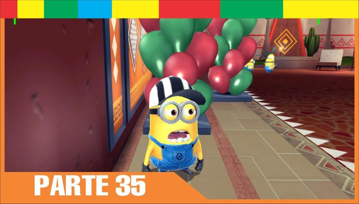 Despicable Me Minion Rush Espanol Completa nivel 35 Minions Juegos Para Niños y Bebes Español - YouTube
