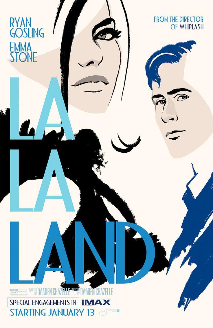 『ラ・ラ・ランド』北米でIMAX版の上映決定!IMAX版ポスター公開 – cuemovie