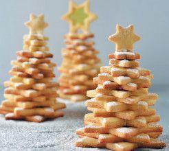 Soetkoekie Christmas Trees #Dessert #Recipe #SouthAfrica