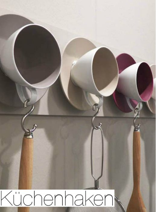 mit alten tassen basteln mit altem geschirr u bestect pinterest i love cup hooks and hooks. Black Bedroom Furniture Sets. Home Design Ideas