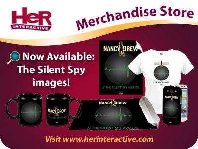 New spy gear featuring The Silent Spy!