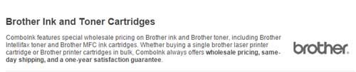 Save 15% Discount ComboInk Brother Ink & Toner Cartridges sitewide Coupon and Promo Codes   Save 15% Discount ComboInk Brother Ink & Toner Cartridges sitewide Coupon and Promo Codes Apply the coupon code at your checkout! It is your option to click the above link, after that the page will automatically turn to the right site where you can find the right product and then you can get it at more cheaper price with Coupon Code.      http://ourcouponss.com/wp-cont
