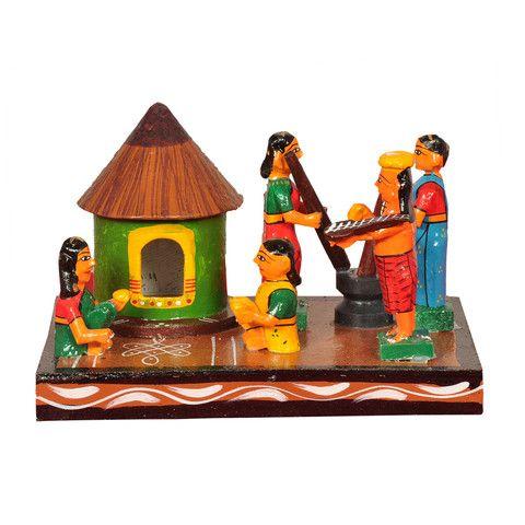 Kondapalli Doll Sankranthi House Setup