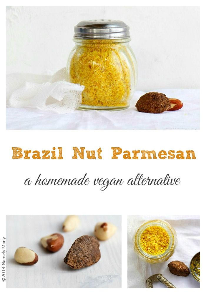 Homemade Brazil Nut Parmesan | Namely Marly #vegan