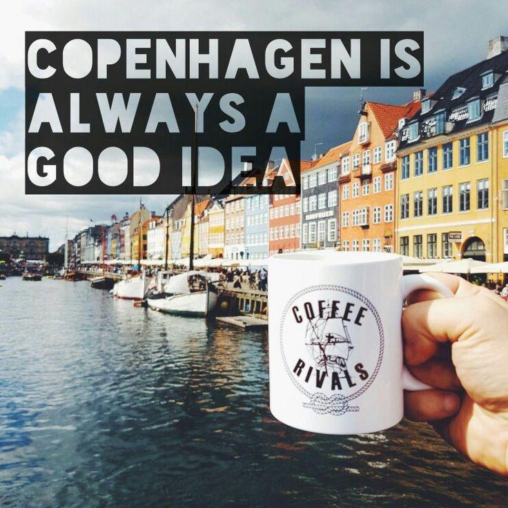 Drinking #coffee in #copenhagen is always a good idea! #coffeerivals #coffeemoment #koffie #roadtrip #koffiemoment