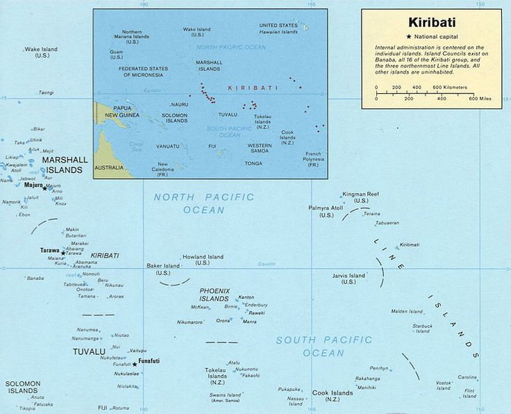 Kiribati map LOC