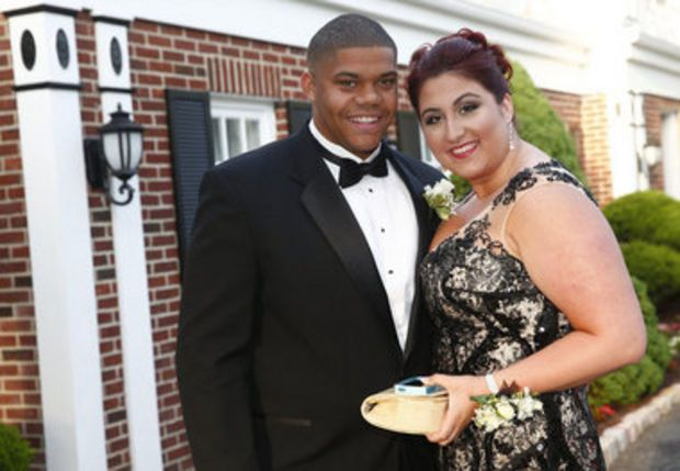 Students from St. Dominic Academy celebrated their senior prom Wednesday night. See more at http://NJ.com/prom.