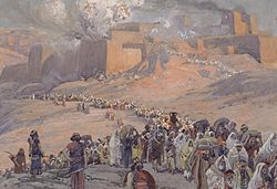 Deportation and exile of the Jews of the ancient Kingdom of Judah to Babylon and the destruction of Jerusalem and Solomon's temple