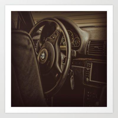 Driver Console Art Print by AngelEowyn - $17.16