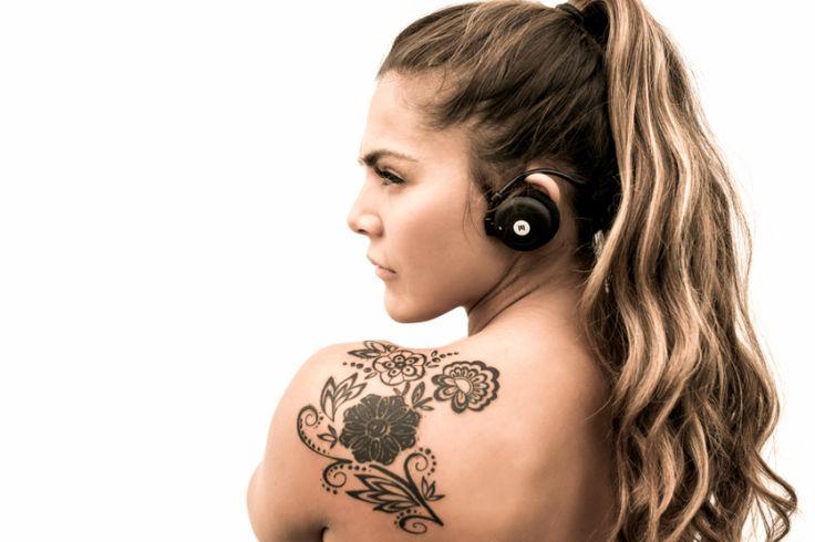 Miiego AL3 Bluetooth headset Miiego trådløse hodetelefoner er spesielt utviklet for sport og trening.