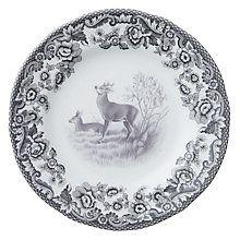 Buy Spode Rural Delamere for John Lewis Side Plate, Dia.15cm, Grey Online at johnlewis.com