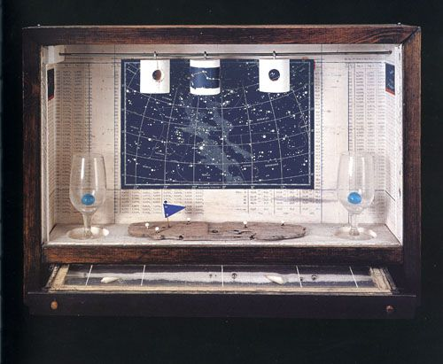 some photographs of Joseph Cornell's intriguing box constructions and their possible relation to architecture