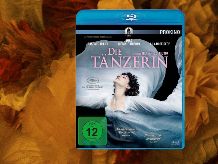 The Dancer - Loie Fuller - Isadora Ducan - Modern Dance - Blu-ray - German Packshot - PROKINO - kulturmaterial