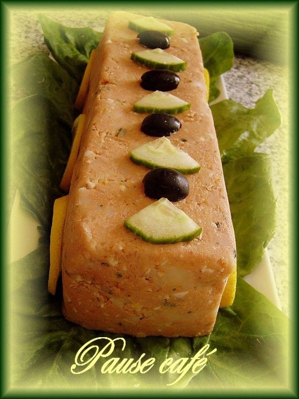 pain terrine de thon recettes terrine de poissons. Black Bedroom Furniture Sets. Home Design Ideas