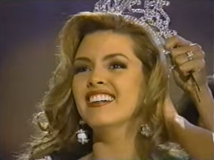 Miss Universe 1996, Alicia Machado from Venezuela.. by Antoni Azocar..
