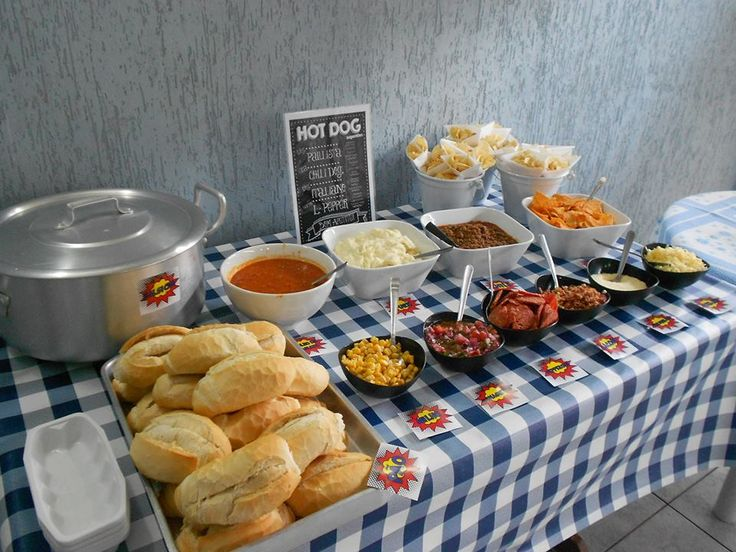 Hot dog bar *-*