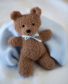 Knitted Teddy Bear Pattern For Charity : Bear patterns, Libraries and Pattern library on Pinterest