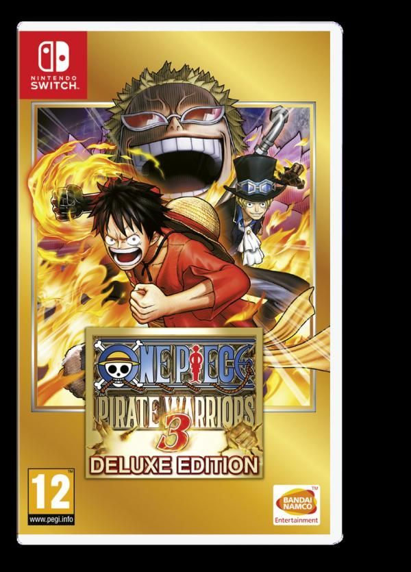 Juego Switch One Piece Pirate Warriors 3 Games Nintendo Switch
