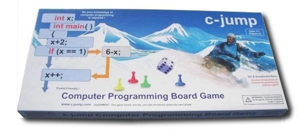 c-jump Computer Programming Board Game    By moving around the board , entering loops, branching under conditional and switch statements, the players gain physical experience of a complete computer program. Understanding of the internal action of a computer is essential to understanding what software is. Static program causes dynamic process in the computer. By playing the game, players...