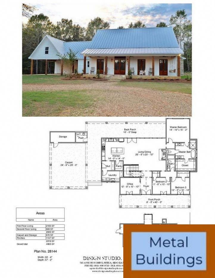 Pin By Thanh Hampton On Home In 2020 House Plans Farmhouse Dream House Plans Barn House Plans