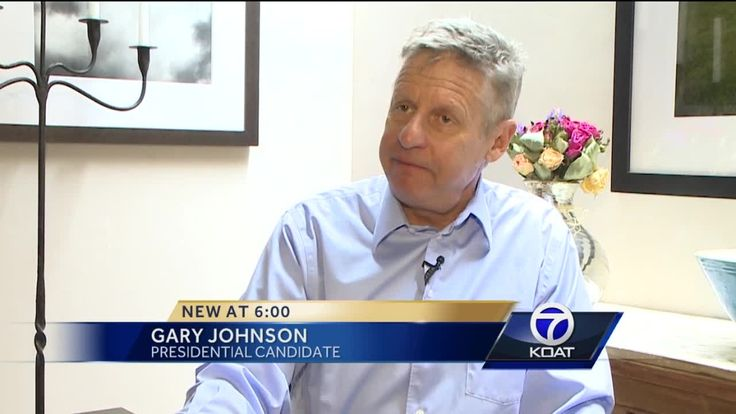 Former governor Gary Johnson has entered the presidential race.