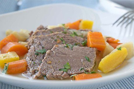 Siedfleisch mit Gemüse - Rezept