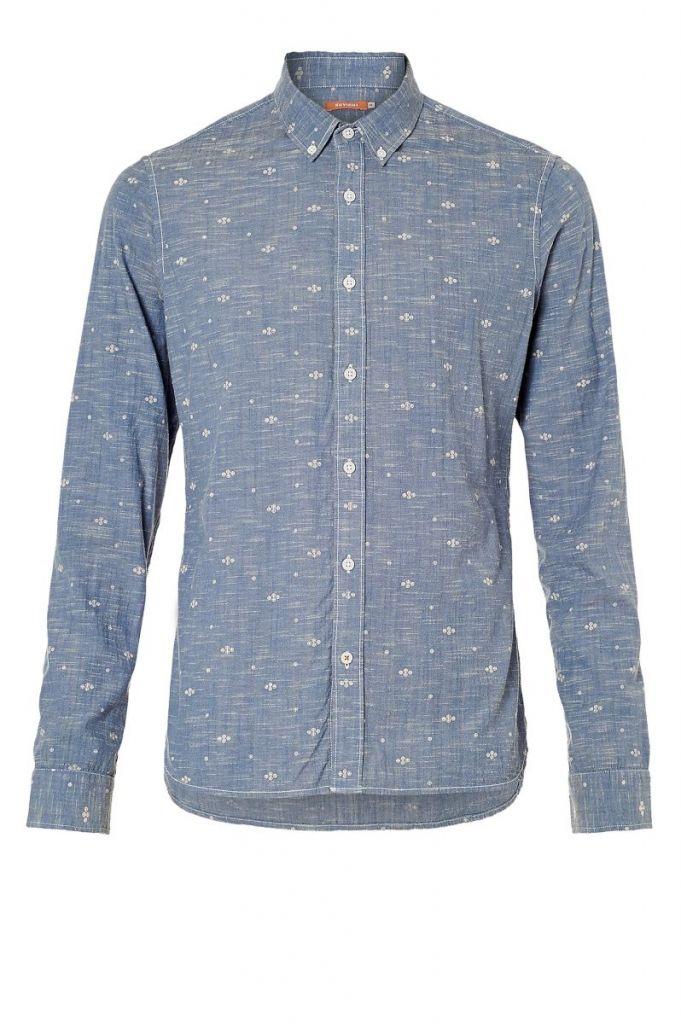 Harisson shirt chambray - Kuyichi