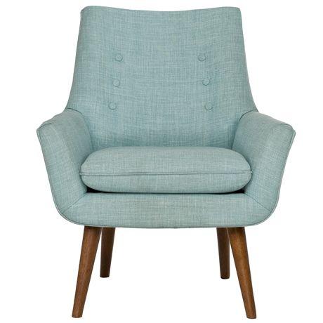 Retro Hazelnut Leg Chair