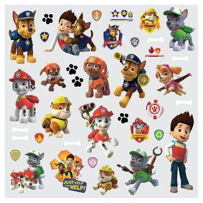RoomMates Paw Patrol Wall Decal,