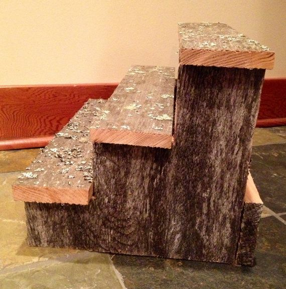 Rustic Cupcake Stand 3 Tier