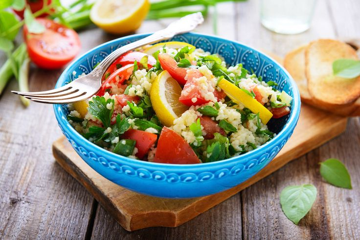 Sommerlich bunter Couscous-Salat