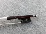 $119.99 Full Size Violin Bow Carbon Fiber Mix Brazilwood Ebony Shield Frog Sliver vb0060