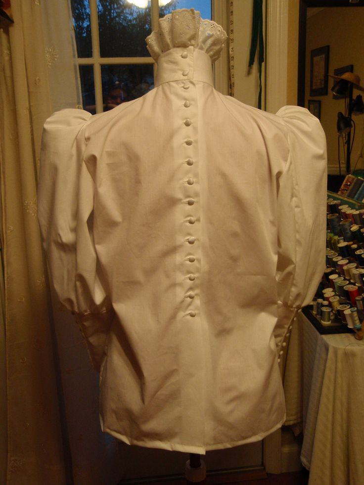 All sizes   1890s Blouse Fitted Half Sleeve 004   Flickr - Photo Sharing!