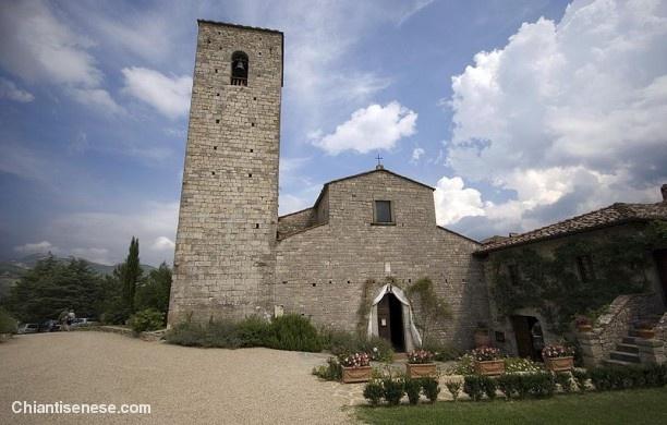 Pieve di Santa Maria a Spaltenna - Gaiole in Chianti