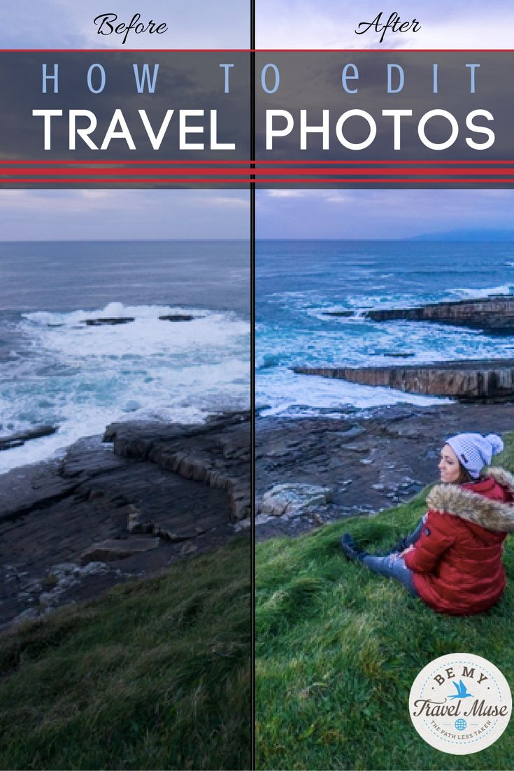 Easy tips on how to edit your travel photos using Lightroom. Whether you're a beginner or more advanced, these tips can help make your photos pop!